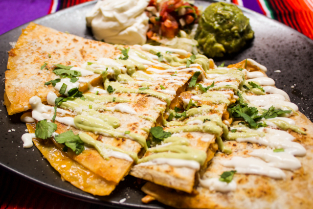 Quesadilla La Diva at El Chingon