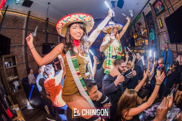 VIP Bottle Service at El Chingon