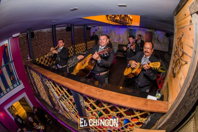 Mariachi at El Chingon