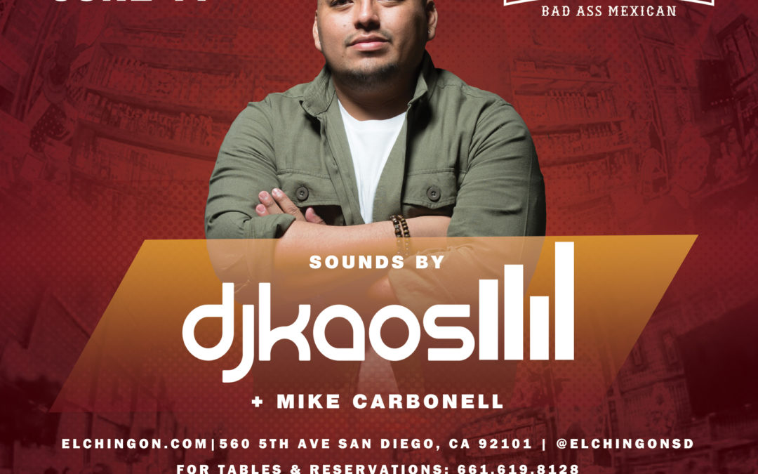 Saturday Nights featuring DJ Kaos + Mike Carbonell