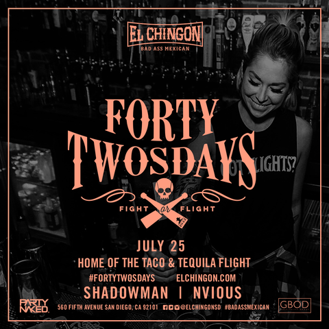 Forty-Twosdays with Shadowman + Nvious