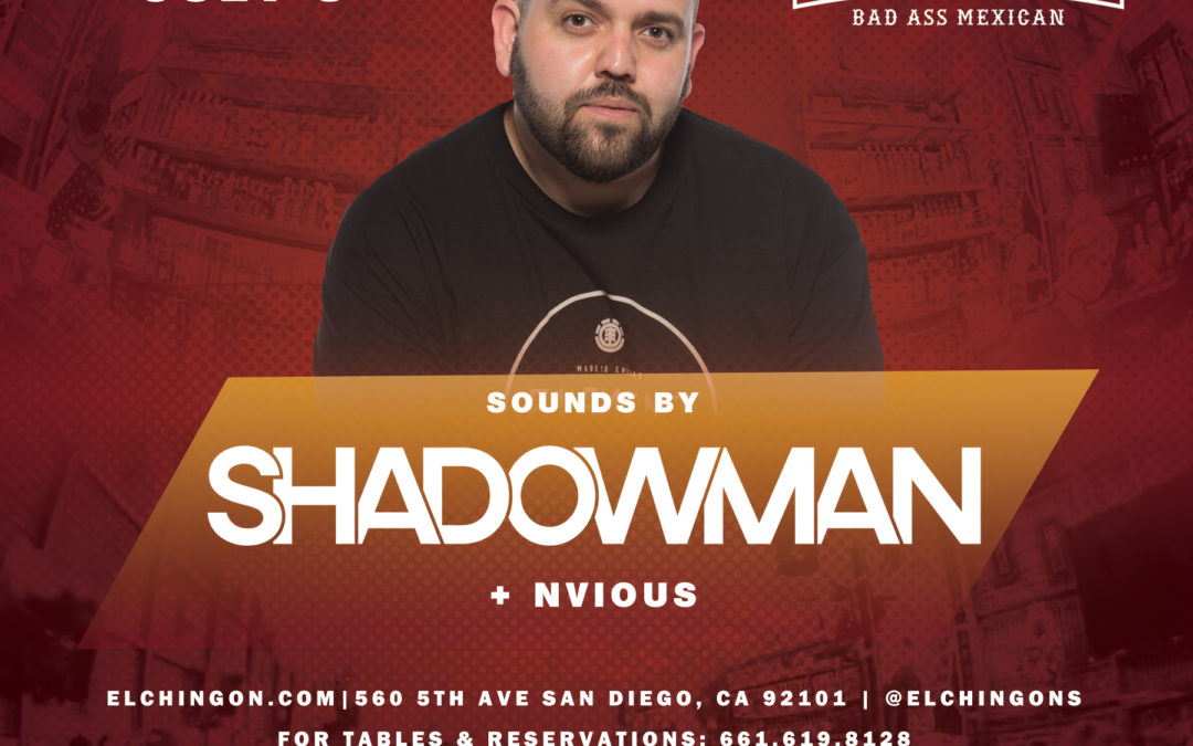 Saturday Nights featuring DJ Shadowman
