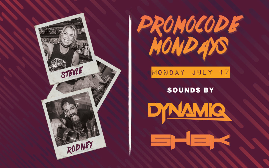 Bad Ass Mondays with DJ Dynamiq + Sh8k