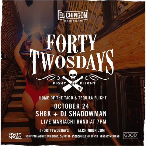 Forty-Twosdays with DJ Shadowman + SH8K