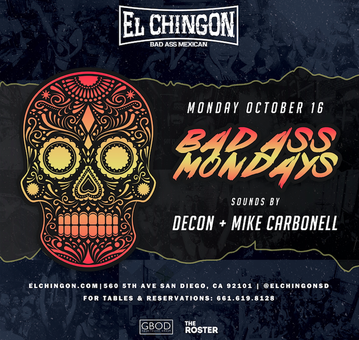 Bad Ass Mondays with DJ Decon + Mike Carbonell