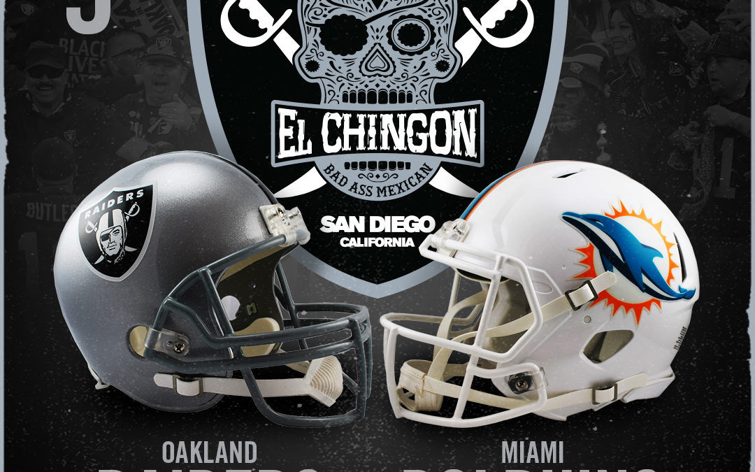 Oakland Raiders vs Miami Dolphins