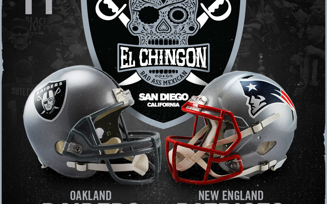 Oakland Raiders vs New England Patriots