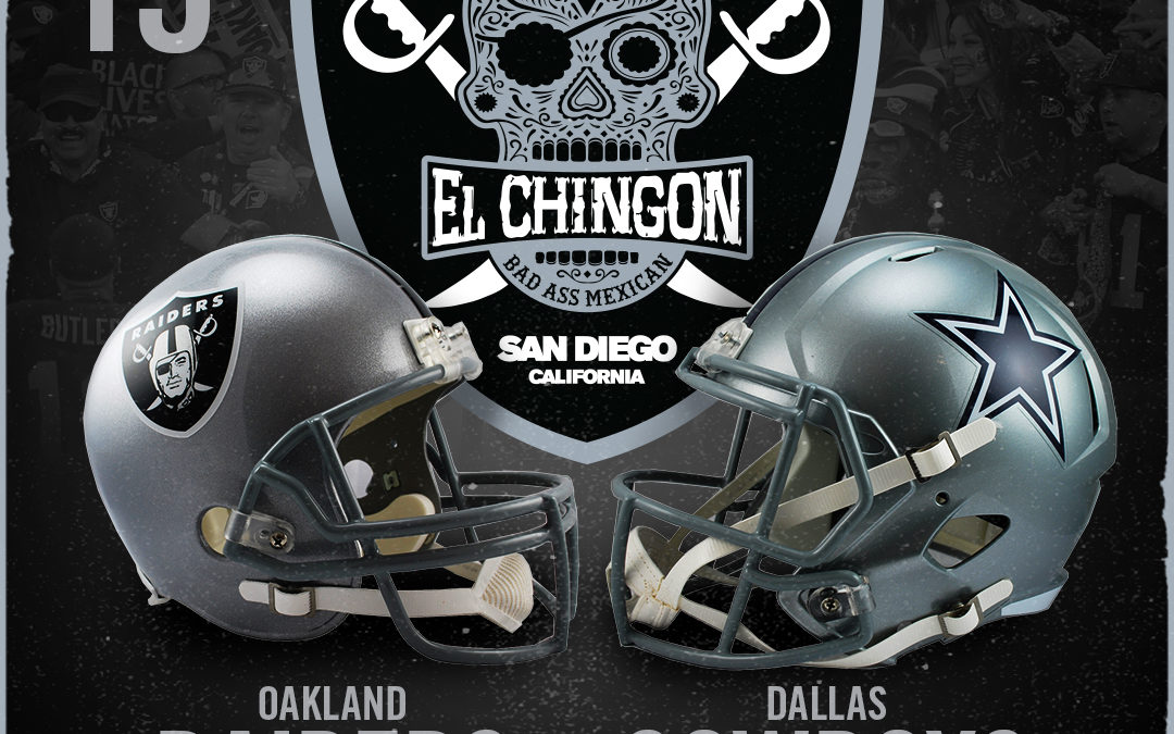 Oakland Raiders vs Dallas Cowboys