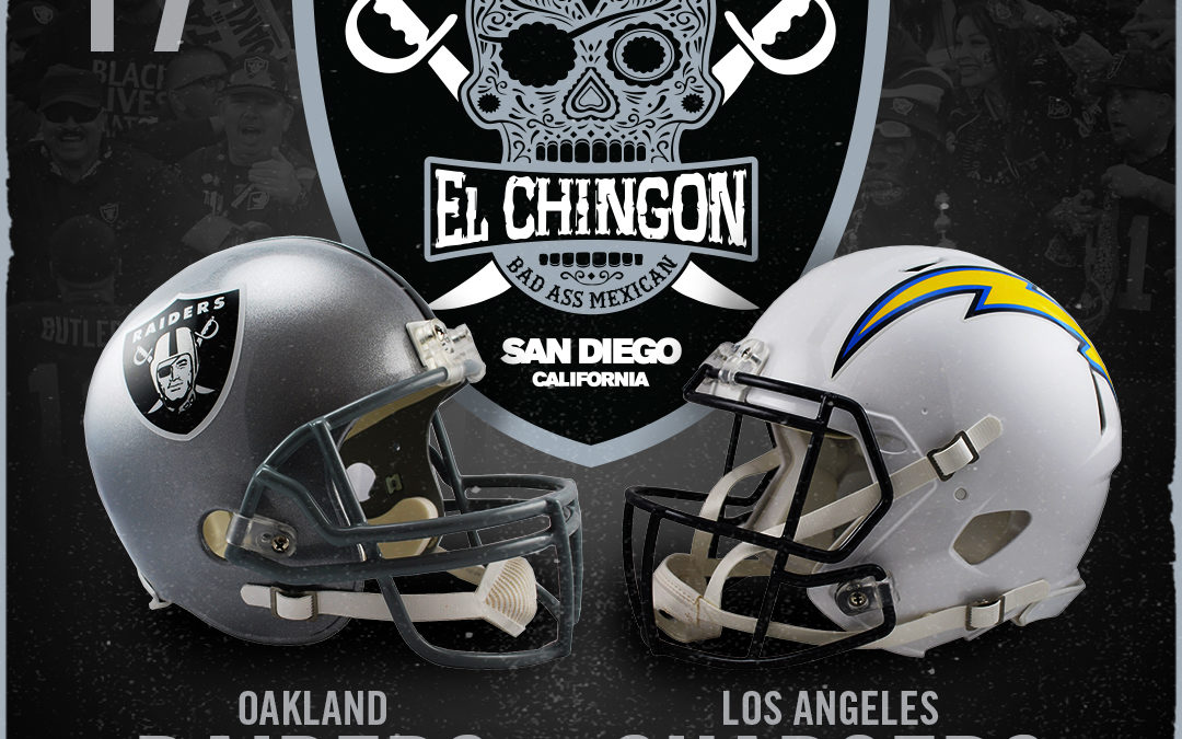 Oakland Raiders vs Los Angeles Chargers