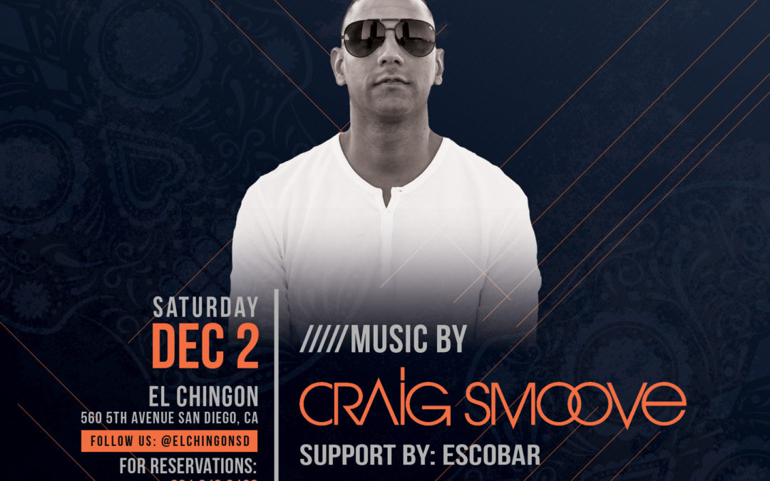 Chingon Saturdays with Craig Smoove + Escobar