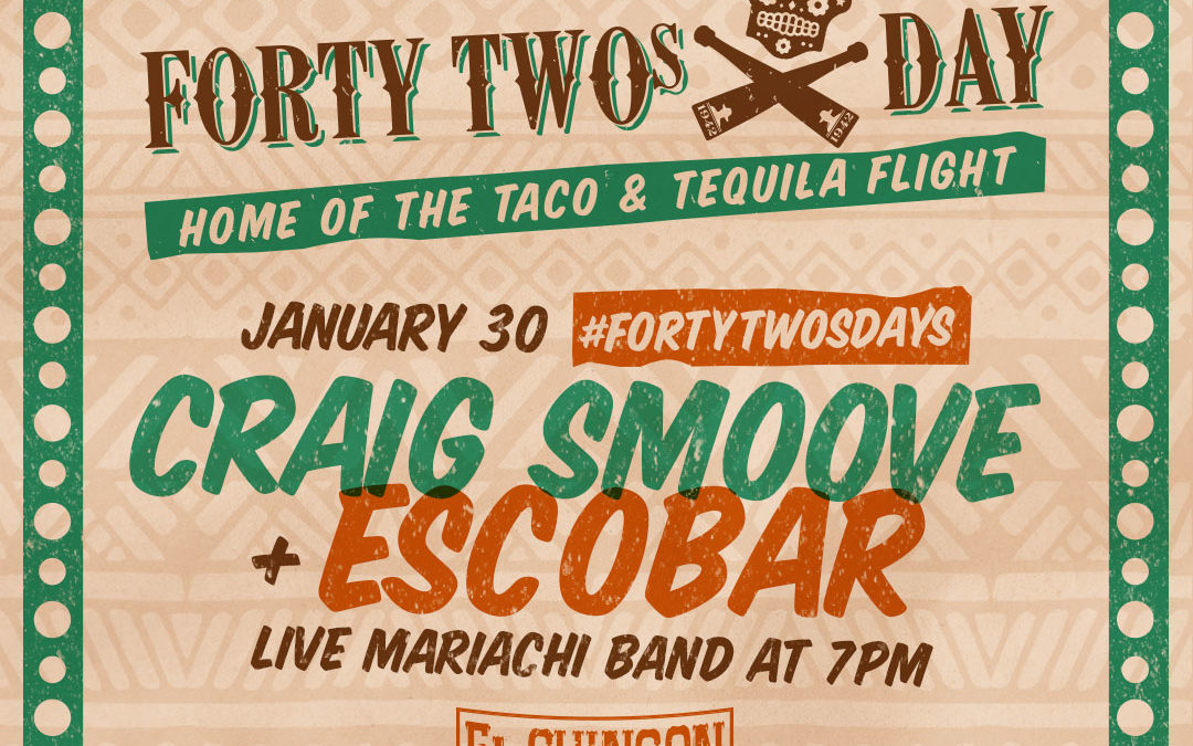 FortyTwosdays with Craig Smoove + Escobar