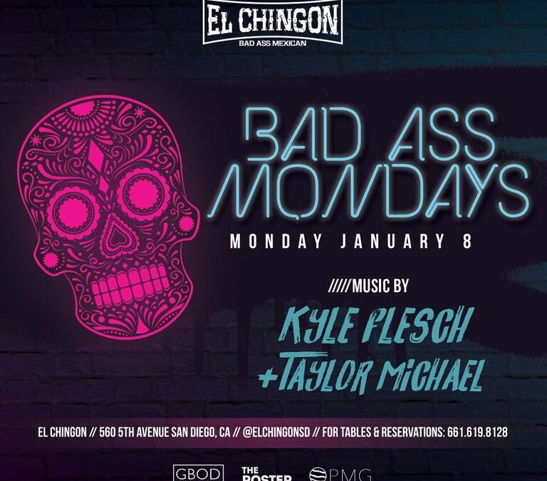 Bad Ass Mondays with Kyle Flesch + Taylor Michael