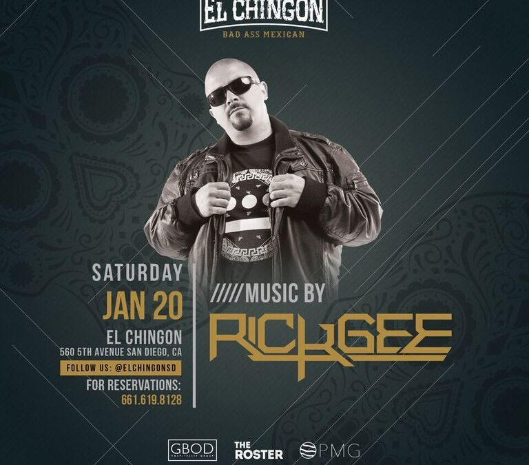 Chingon Saturdays with Rick Gee
