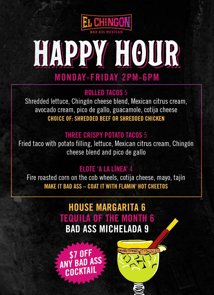 El Chingon San Diego Happy Hour